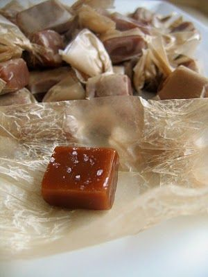 Gourmet's recipe for Fleur de Sel caramels; one of the best things I've ever made