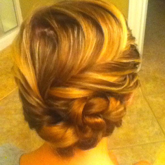 My mama did my hair #havinfun