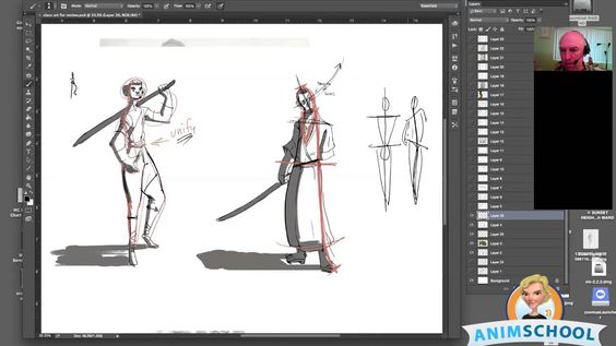 Posing Concepts for Drawing with Sean Sullivan