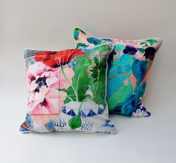 double-sided cushions