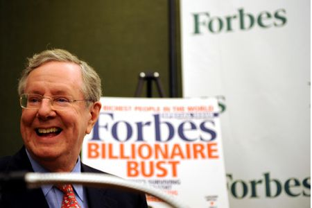 @SteveForbesCEO - President and CEO of Forbes Media - 60000 Kred Influence Points - CEO Community