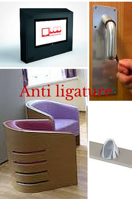 anti ligature protection for TVs in mental hospitals