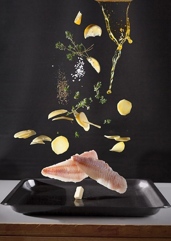 This Is the Fanciest Food Fight Ever via Brit + Co. //  Nora Luther
