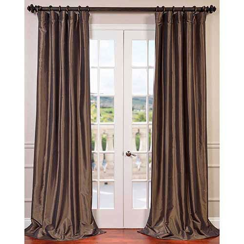 2066ptch27108 Half Price Drapes Panel Curtains Faux Silk Curtains