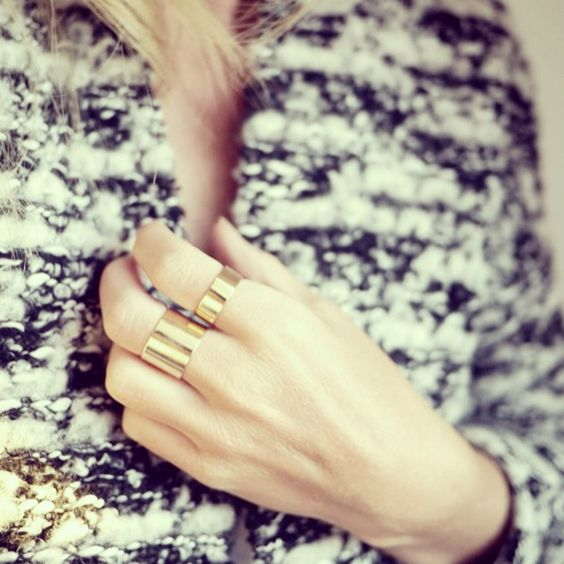Style...Camilla Pihl // golden rings