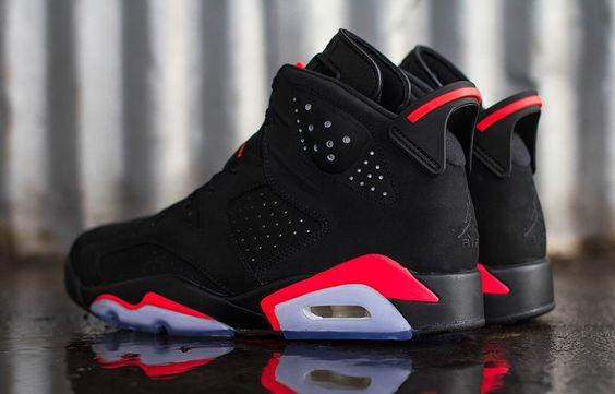 """Air Jordan 6 Retro """"Infrared"""" (Releasing)"""