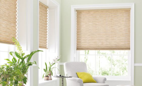 Pleated Shades add dimension to any room. #MarthaWindow @JCPenney #windowtreatments