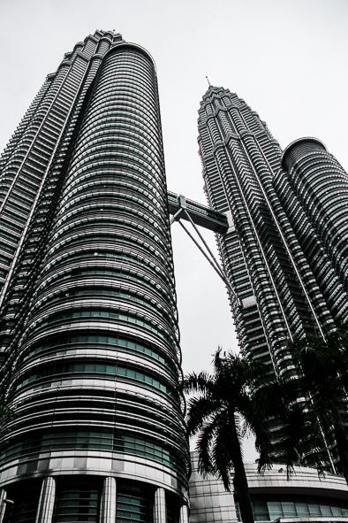 Audrey Moneyron - les tours Petronas, Malaisie