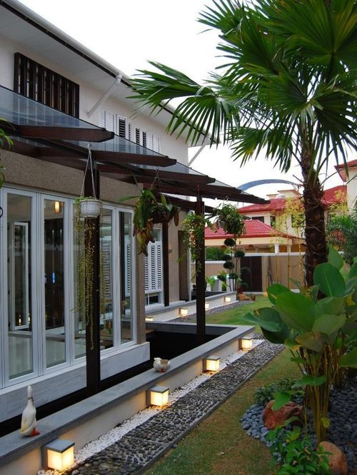 Terrace House Landscape Malaysia House Landscape Garden