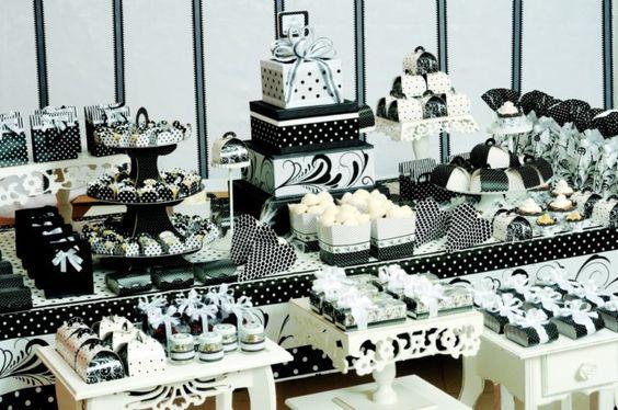 Ideias para Festa Preto e Branco!: