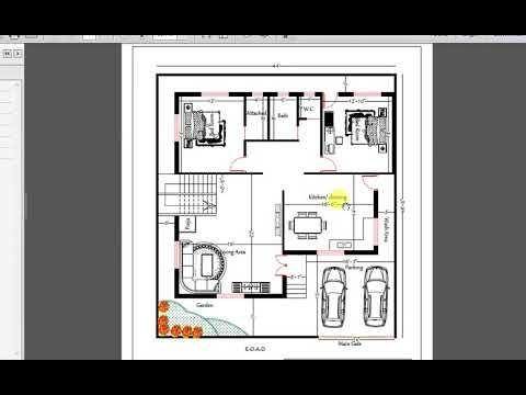 44x48 Ft 5 Bhk Dplex House Plan House Plans Bungalow Design Image House