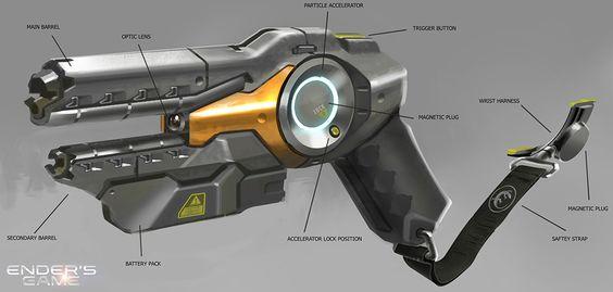 Ender's Game, Concept Art by James Clyne-Giant Frog Studios