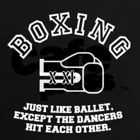 #Boxing, the grown up version of #ballet #pro5