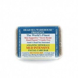 Dead Sea Mud Intensive Facial Care Bar
