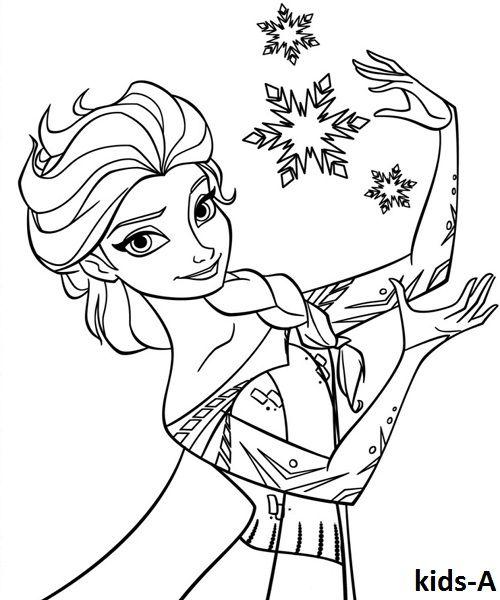Elsa Ausmalbilder Gratis For Kids Ausmalbilder Elsa Ausmalbild Ausmalbilder Anna Und Elsa