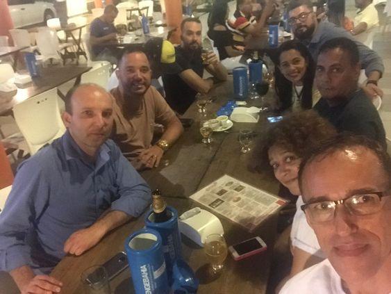 FAUs do Brasil depois do encerramento do VIII Erefau (foto do dia 18/08/2018).