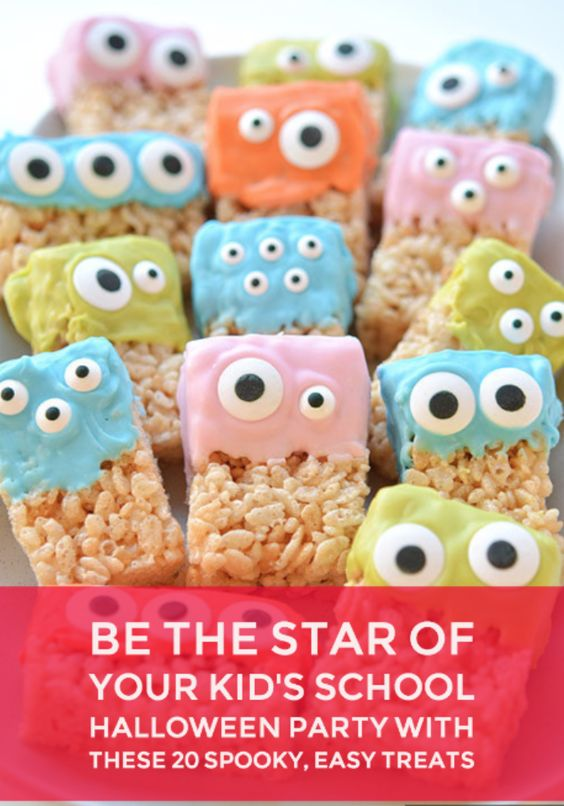 I don't have much creativity when it comes to spooky goodies -- the only sweets I give out are the kind you can buy at the store. But if you love making delicious desserts and cute treats for your little ones, you have to check out these awesome recipes.