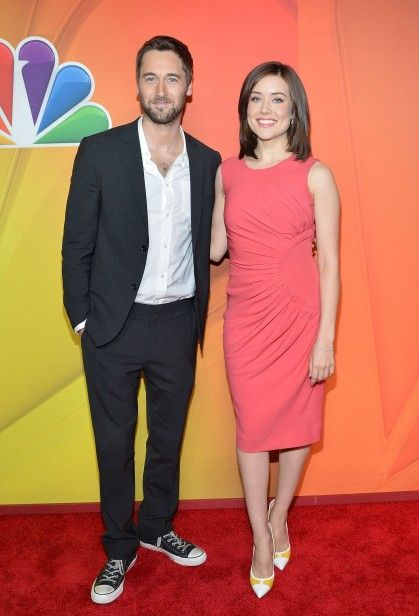 The Blacklist megan boone and ryan eggold | ... Fabs: The NBC Upfronts Ryan Eggold, Megan Boone – Go Fug Yourself