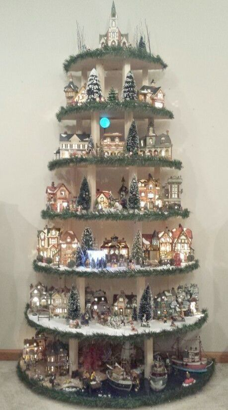 Iode Christmas House Tour Goderich 2018 All Home Depot Christmas Day Hours Christm Diy Christmas Village Displays Diy Christmas Village Christmas Tree Village