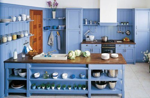 Blue Stained Kitchen Cabinets kitchen cabinet stain colors  blue