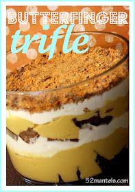 52 Mantels: Butterfinger Trifle