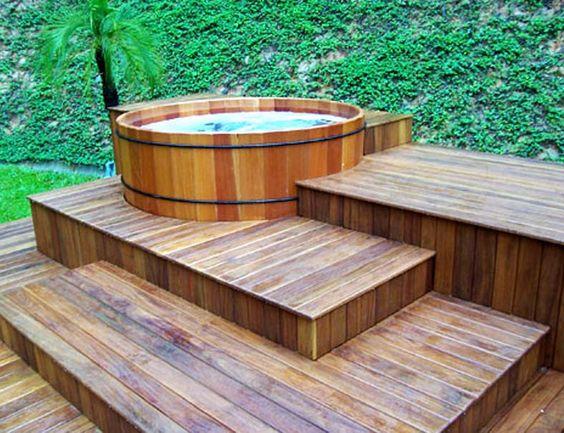 Diseño e instalación de tinas de agua o bañeras ofurós y spas de ...