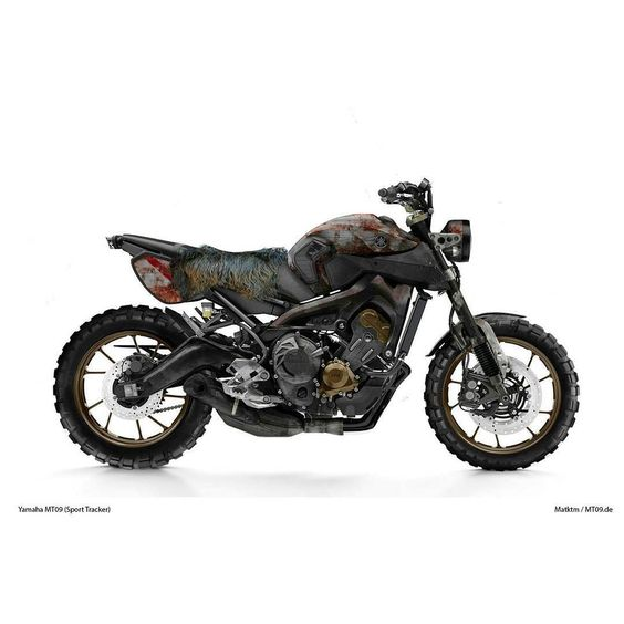 mt09 yamaha mt mt07 xsr900 xsr700 xsr scrambler rat ratte rost rust photoshop by. Black Bedroom Furniture Sets. Home Design Ideas