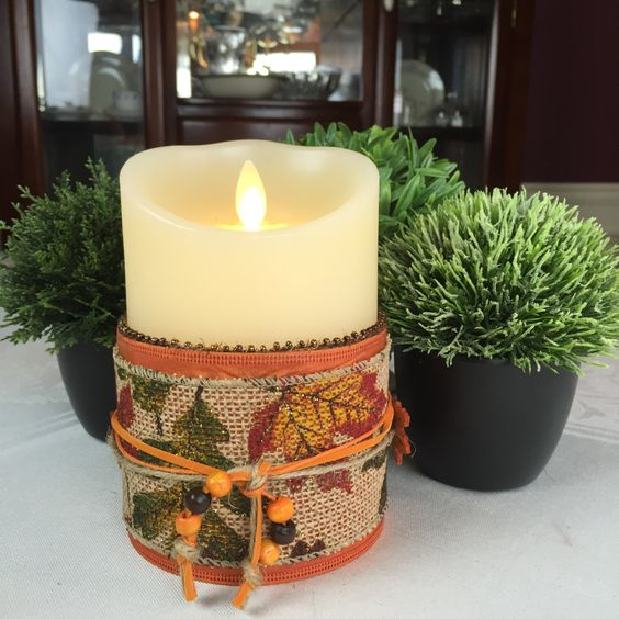 LED Candles - Flameless Candles - Fall Decor - Battery Candles ...