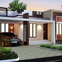 3d Designing Pictures Video Walkthrough Animations Etc By Supernova Constructions Homify In 2020 Small Modern House Plans Simple House Design House Design Pictures