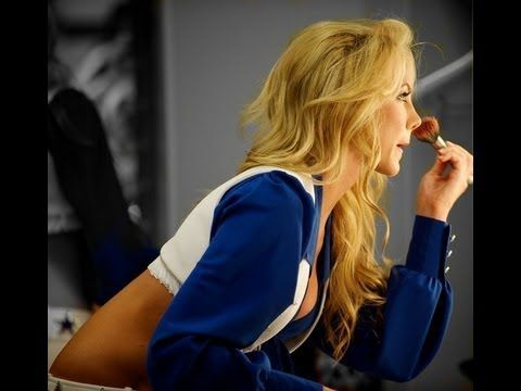 NFL Dallas Cowboys Cheerleaders Makeup using the UD NAKED Palette