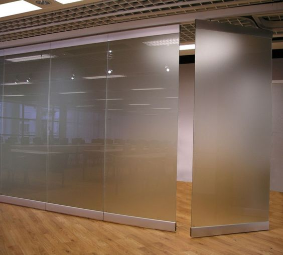 Moveable Wall Mesmerizing Frosted Glass Movable Walls