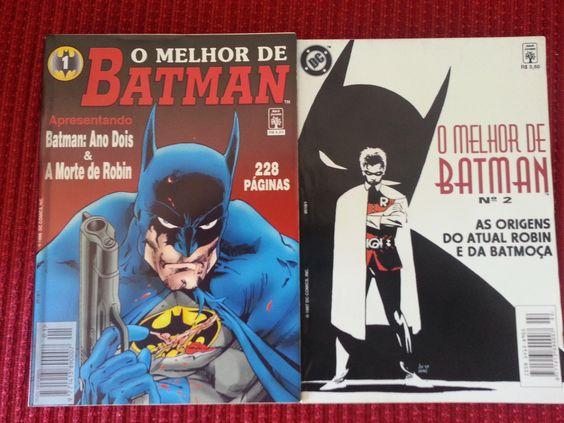 O Melhor de Batman. Editora Abril. (1-2) Dez/96,  Nov/97. 2 Edições.