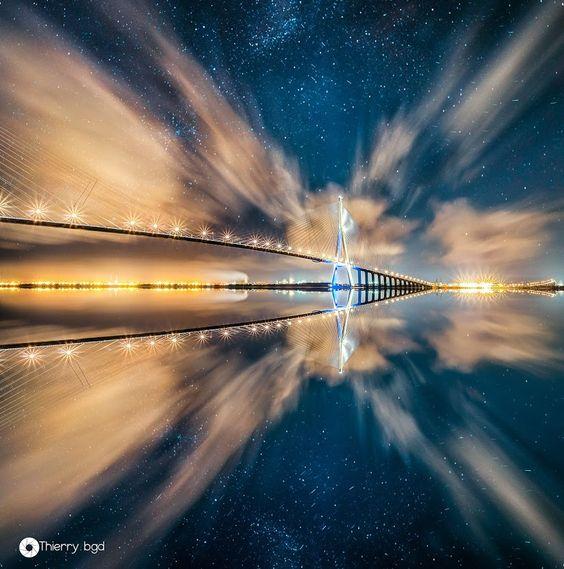 Google+ Pont de Normandie, France by +Thierry Bégoud