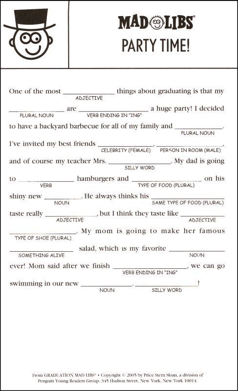 This is a photo of Accomplished Mad Libs for Adults Printable