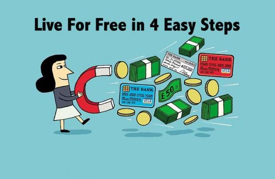 Experts tell you how to live for free in 4 easy steps