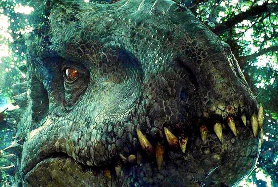 The Indoraptor And A Girl 8 With Images Jurassic World