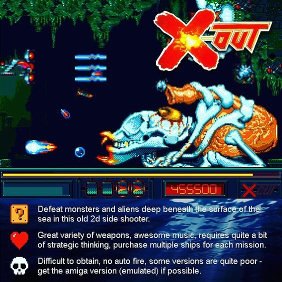 You'd like this one by gametreasures #arcade #microhobbit (o) http://ift.tt/1QcNzY9 a comment if you loved it! #gamer #games #pcgaming #amiga #playstation #xbox #nintendo #sega #commodore64  #oldschool #classic #review #xout #x-out #rainbowarts #shooting