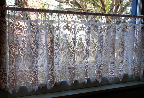 Lace Curtains Curtains And Lace On Pinterest