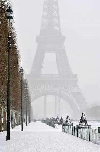 Paris..magical in winter.xx