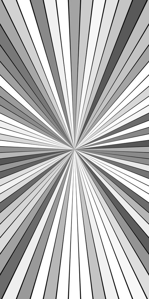 Grey Psychedelic Abstract Ray Burst Background Vector Graphic