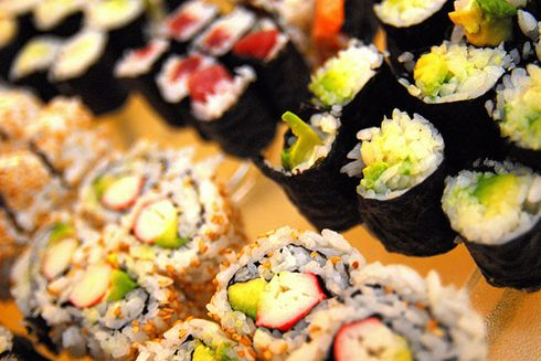 in love with sushi