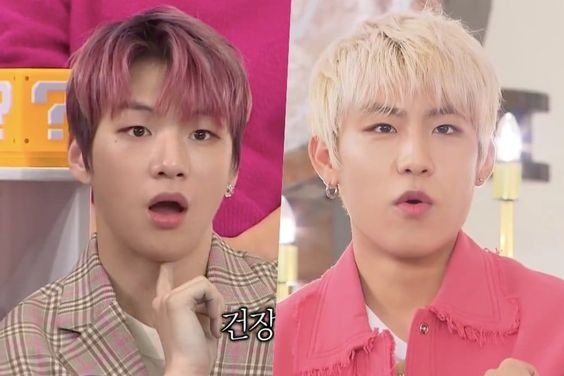 """Wanna One's Kang Daniel And Park Woo Jin Share Hilariously Different """"Ghost"""" Experiences They Had At Hotel Abroad"""