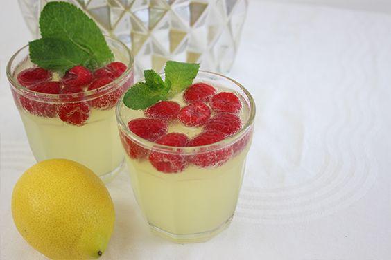 Himbeer Limoncello Prosecco-Cocktails für den Sommer