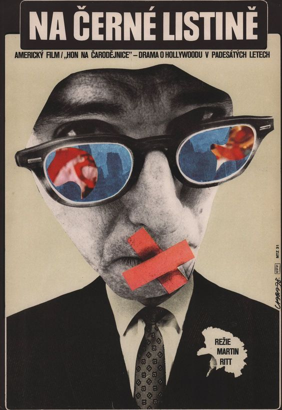 The Front 1978 Original Czech Republic Movie Poster