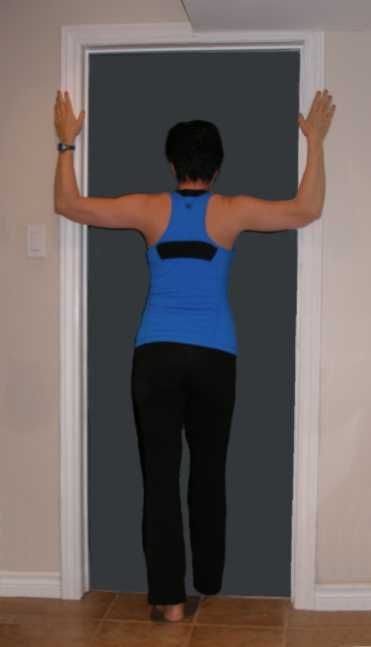 Bad posture stretches