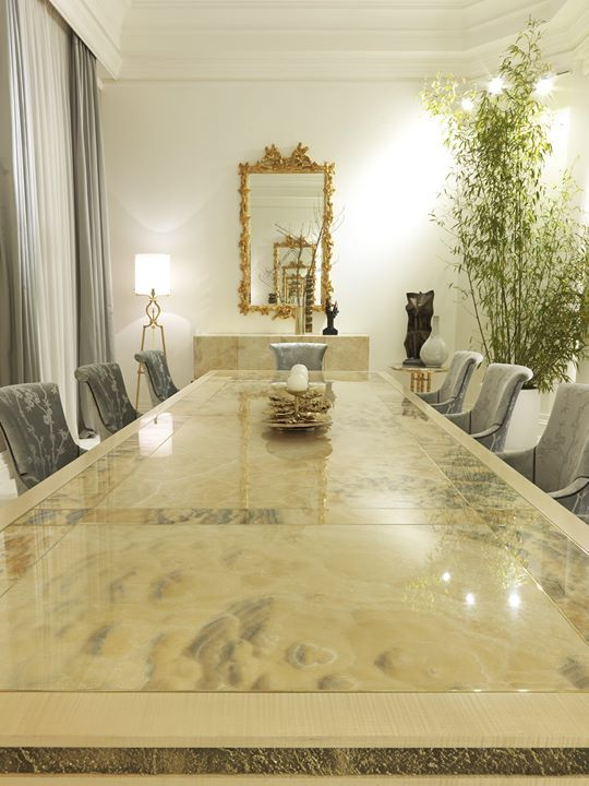 Jumbo Collection Built Around A Big Dining Table Where The