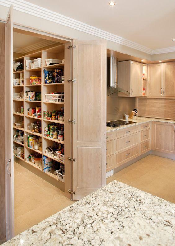 مستشار المطابخ On Twitter المستودع الخفي داخل المطبخ ما رأيك به Kitchen Pantry Design Pantry Design Pantry Room