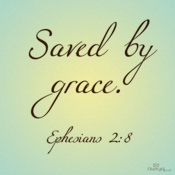 Saved by Grace. #inspiration
