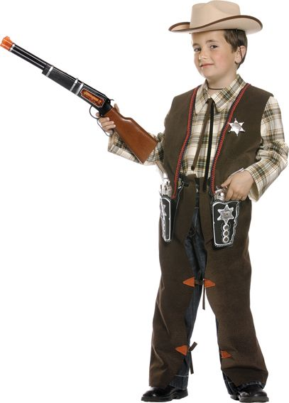 Disfraces de #vaqueros para niños: