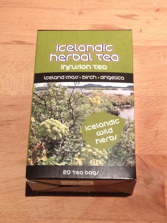 Icelandic herbal tea with antioxidant effects - Comes in 20 tea bags #slenskhollusta